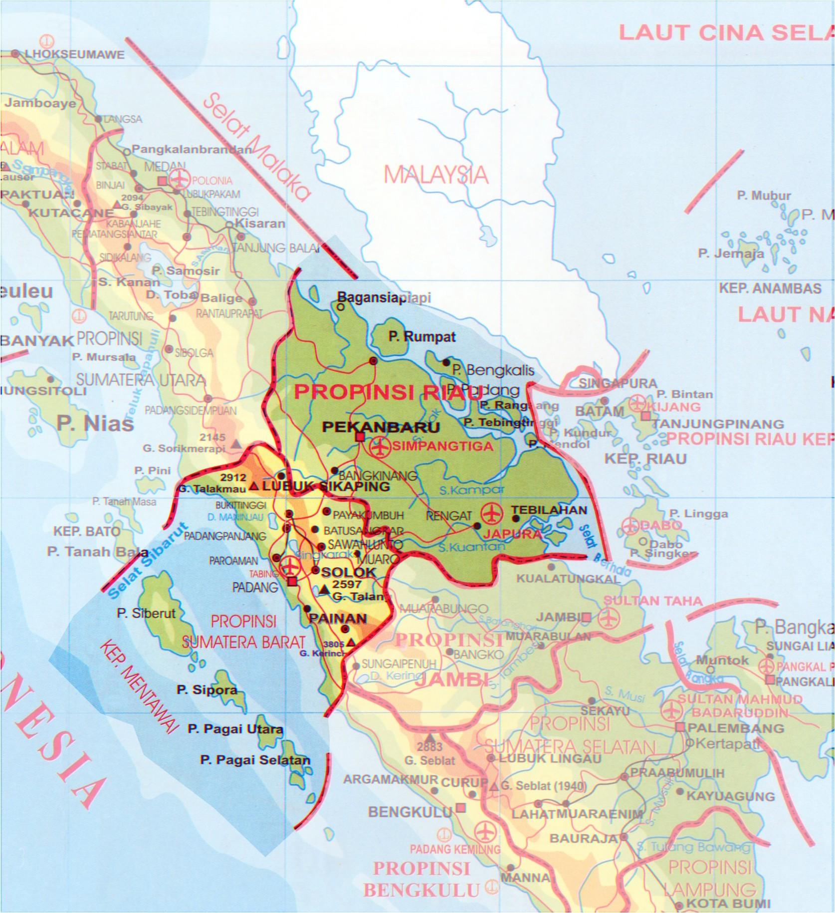 peta keuskupan padang