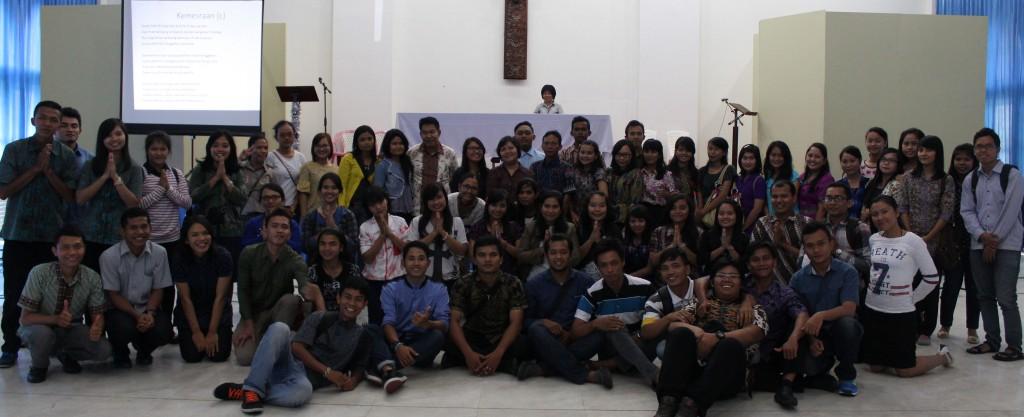 peserta mejeng