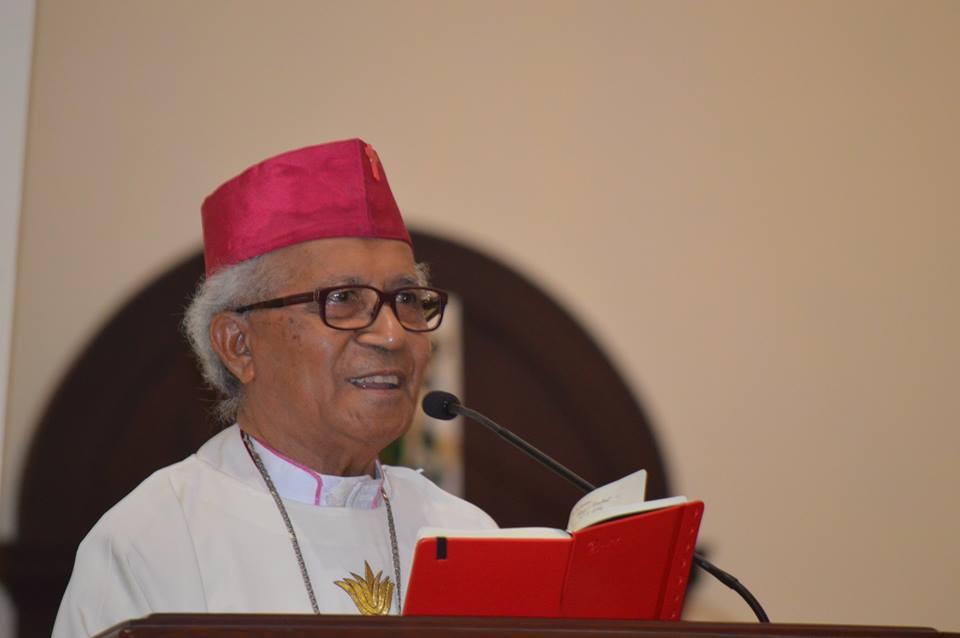 Mgr Hilarius Moa Nurak SVD